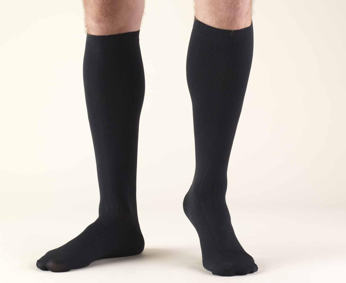 a1d12bff2 Activa Men s Dress Socks 15-20 mmHg Closed Toe